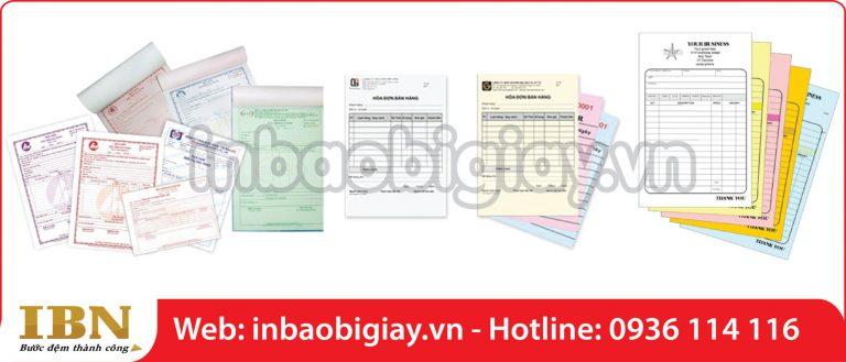 Các thông tin cơ bản về mẫu in phiếu thu biểu mẫu giấy