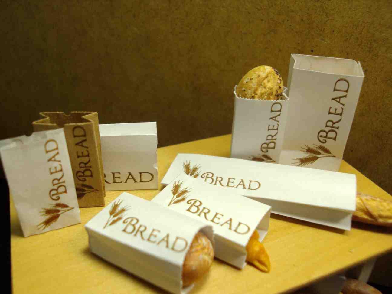 Túi thực phẩm bánh mì kẹp
