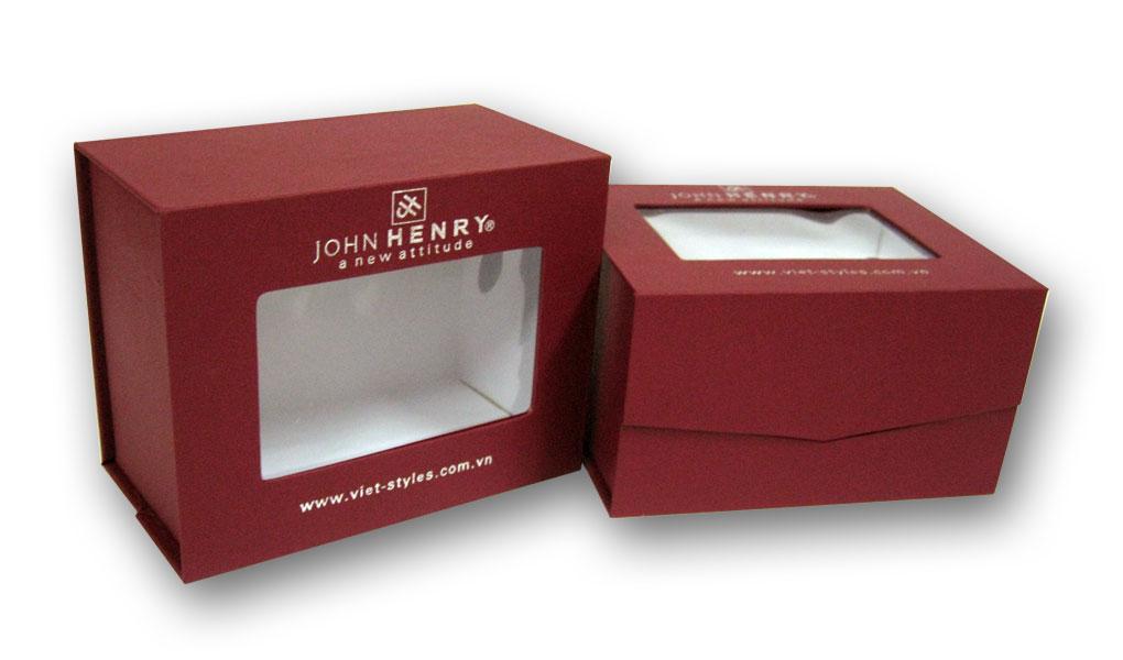 In hộp quà có giấy kiếng giá rẻ hcm