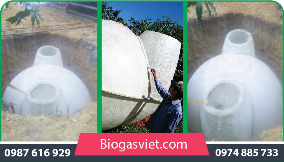 Hầm biogas composite trên thị trường có giá bao nhiêu?
