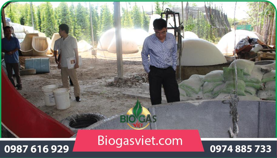Xây dựng hầm biogas cho hình thức chăn nuôi hộ gia đình