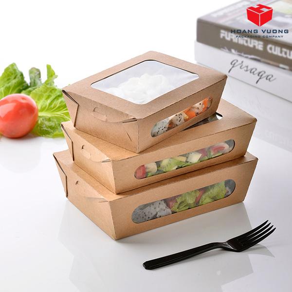 Thiết kế hộp giấy làm bao bì thực phẩm