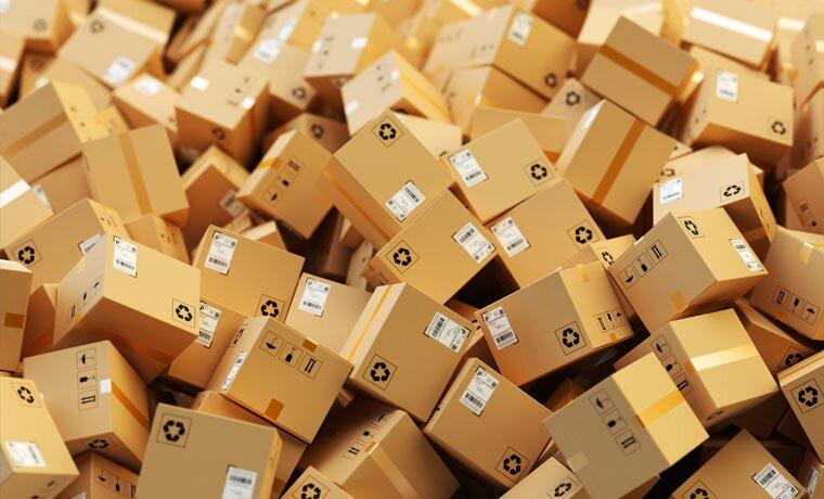 máy móc trong dây chuyền sản xuất thùng carton